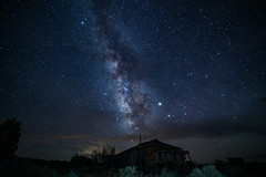 Milky Way over an abandoned home stead (CaptDanger) Tags: night sky full stars milky way milkyway landscape astrophotography long exposure canon photography 5d mark iv new mexico skies southweastern us southwestern states nightshots time abandoned old home house looking south 30 second amazing beautiful milkywayrising milkywaylandscape milkywayatnight longexposureatnight newmexico newmexicoskies newmexicolandscapes abandonedhome americansouthwest america southweasternus southwesternstates southwestunitedstates