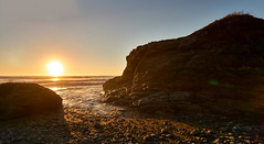 DSC06052_stitch (wNG555) Tags: 2014 california crescentcity pacificcoast a6000 sunset pacificocean beach fav25 fav50
