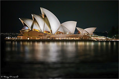 Sydney Opera House at dusk (Roy Prasad) Tags: sydney opera house sony a7rm4 a7r leica water reflection prasad royprasad travel building architecture 50mm apo summicron bhphoto