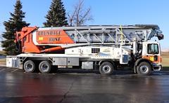 Brundage Bone Telebelt TB 130 Truck (raserf) Tags: brundage bone concrete cement truck trucks pump pumper pumping telebelt tb 130 conveyor mack putzmeister sturtevant wisconsin racine county
