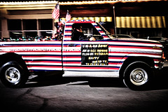 XPR20043 (alhawley) Tags: abstract american americanflag americana blur candid captureone color colorstreetphotography everytownusa flag fujicolorstreet fujifilmxpro2 fujinonxf23mmf2rwr highcontrast gritty humor impressionistic parade photodocumentary photojournalism street streetphotography usa pickup ford nightphotography veteran flikrexplore