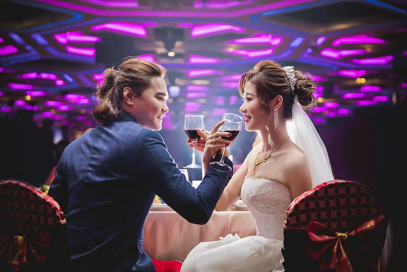 婚禮攝影 [慶勳❤芷妤] 訂結之囍@台中潮港城國際美食館