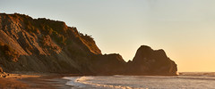 DSC06063_stitch4 (wNG555) Tags: 2014 california crescentcity pacificcoast a6000 sunset pacificocean beach fav25