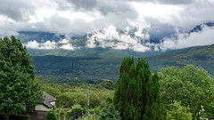 Cloudy mountains (Lense23) Tags: landscape landschaft schottland scotland highlands berge mountains wald forest fortwilliam wolken clouds wood