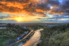 Good Things Come To Those Who Wait (HiJinKs Media...) Tags: bristol sun sky colours colors clouds city water woodland woods leighwoods trees perspective outdoors morning early colourful colori colorful road river riveravon riverbank reflections reflection weather wet rain cars vehicles buildings houses hotwells cityscape mooring warehouses bondedwarehouse golden shadows railway path cold nature light