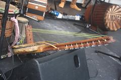 Harp Lutes 13: Kamale Ngoni (of Lindigo musician) (KM's Live Music shots) Tags: musicalinstrument hornbostelsachs chordophone kamalengoni westafrica lindigo thescoop