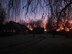 Sunrise (❀ Rosemarie Christina ❀ [Very slow, sorry!]) Tags: farmland snapshot sunrise exquisitesunsets