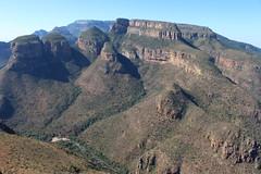 The Three Rondavels (Rckr88) Tags: mpumalanga southafrica south africa the three rondavels thethreerondavels rondavel mountains mountain cliff cliffs rocks rock nature naturalworld outdoors travel travelling water river rivers