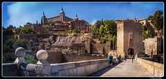 Toledo_Alcántar_Puente de Alcántara_Alcantara Bridge_Tajo river_Castilla - La Mmancha_ES (ferdahejl) Tags: toledo alcántar puentedealcántara alcantarabridge tajoriver castillalammancha es dslr canondslr canoneos800d
