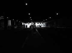 Facing the future (Blue Nozomi) Tags: commute manila philippines holiday bus station