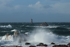 Tempête sur le phare du Four (bertrand.yvon1492) Tags: photo picture focus canon canonfrance landscape landscapephotography sea seascape wild wildlife ocean oceanatlantic color colorful beautiful perfect perfectday phare pharedufour porpoder finistere finisteretourisme bzh breizh bretagne bretagnetourisme france visitelafrance