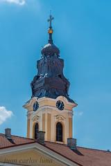Catedrala Sf.Nicolae (juan carlos luna monfort) Tags: iglesia biserica oradea rumania romania bihor campanario hdr nikond810 nikon24120 calma paz tranquilidad