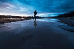 Rêveur (Stéphane Sélo Photographies) Tags: ain canon6dmarkii france irix11mmf4 parcieuxwater aqua coucherdesoleil eau landscape lumière paysage reflet rivière sunset
