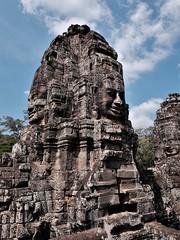 2019, Siem Reap, Cambodia (carythary) Tags: wat bayon siemreap cambodia temple face angkor