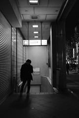 なんば (nagacchi13) Tags: x100f fujifilm osaka japan monochrome blackandwhite streetsnap streetphotography street