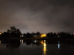 Decemver 27, 2019 - Moody nighttime conditions in Thornton. (LE Worley)