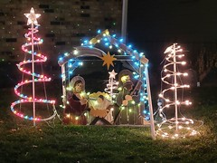 December 27, 2019 - Holiday lights in Thornton. (LE Worley)
