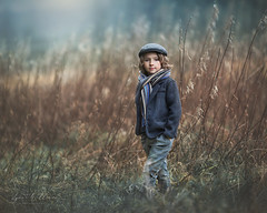 Mr Winter (Lynne Williams Photography in Wales) Tags: fog wales winter love boy child son mountain grass portrait outdoor children cold december