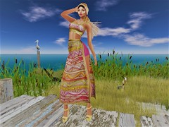 Colors for Happiness (Joy.Felicity.Styling.Arts) Tags: ulla outfit bohemian baetik sl slblogger slfashion secondlife second life blogger joyfelicity joy felicity