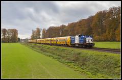 Volker Rail 203-4, Ellecom (J. Bakker) Tags: volker rail vr v100 203 2034 ns nsr dm90 dm 90 3400 3440 3428 3434 3436 51961 nijmegen amsterdam houtrakpolder ellecom nederland