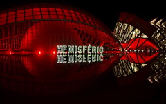 Hemisferic Night (gerard eder) Tags: world travel viajes reise street city españa streetart valencia spain europa europe cityscape streetlife ciudades städte spanien cityview stadtlandschaft stadtderkünsteundwissenschaften red urban museum architecture reflections arquitectura outdoor calatrava architektur museo spiegelung modernarchitecture santiagocalatrava abstractarchitecture lumbracle cityofartsandsciences ciudaddelasartesyciencias urbanlife urbanview