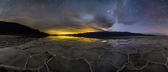 Badwater Basin Night Panorama (Jeff Sullivan (www.JeffSullivanPhotography.com)) Tags: death valley national park lake manly badwater basin water reflections deathvalley nationalpark stovepipe wells furnace creek california usa travel nature landscape photography workshop nikon d850 nikkor 1735mm f28 lens jeff sullivan allrightsreserved photo copyright december 2019 panorama night