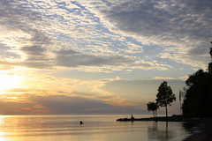 Summer Memory (mineral2150) Tags: sunset lake huron point clark ontario