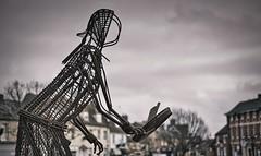 Selecting memories (Phancurio) Tags: olney buckinghamshire memory statue pancake