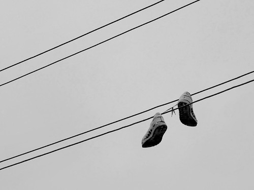 sneakers in the sky ©  Sergei F