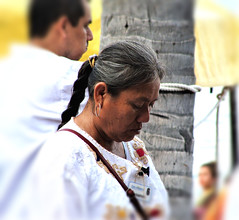 Aztec Lady (knightbefore_99) Tags: mexico mexican rincon guayabitos nayarit cool tropical awesome sun sol sunny beach aztec lady tradition braid pride native fantastic great