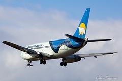 Canadian North 737 (galenburrows) Tags: 737 flying ottawa boeing canadiannorth 737200 airplane aircraft aviation flight yow cyow