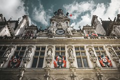 Hôtel-de-Ville (marcelo.guerra.fotos) Tags: historicpreservation historic historiccity paris europe palace nikon architecture antique architect antiqueness beautiful cool detail deep d7100 europestyle edification france interestingness urban urbanscene urbanview