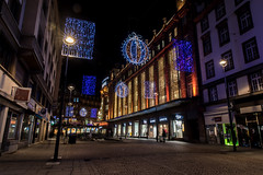Strasbourg by night (Roberto Bendini) Tags: france europe strasbourg strasburgo market marché natale noël christmas light lumieres luci città town ville alsace canon 2019