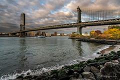 New-York: Manhattan Bridge (christian.rey) Tags: manhattan bridge newyork city nyc usa brooklyn sony a7r2 a7rii 1635 autumn automne