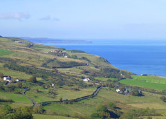 Torr Head, Antrim, Northern Ireland (east med wanderer) Tags: ulster northernireland ireland countyantrim torrhead countryside fields roads sea coast