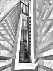 Stairwell (AxellH1) Tags: black white blackandwhite schwarz weis blanco y negro bw spanien espana spain kanarische inseln canary islands islas canarias gran canaria mogan puerto rico