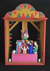 Oaxaca Mexico Nativity Nacimiento Wood Carvings (Teyacapan) Tags: nacimiento belen nativity folkart mexican oaxacan woodcarvings antoniovillafanez