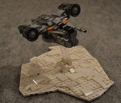 Razor Crest in mini ! (Pierre MiniBricks) Tags: pierre minibricks lego star wars mini moc razor crest mandalorian mando ship