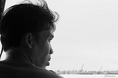 Piloto de embarcación (Egg2704) Tags: deltadelmekong vietnam pilotodeembarcación piloto montsesanjuán egg2704 blancoynegro blackandwhite blanconegro blackwhite bn byn monocromo monochrme retrato