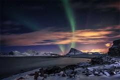 Vinternatt i nord (steinliland) Tags: arcticlandscape auroraborealis northernlights