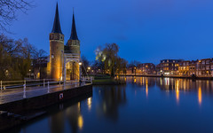 Delft (Rens Timmermans) Tags: canon5dmk3 canon1635mmf40 bluehour architectuur avondfotografie delft water reflectie nationalgeographic ngc