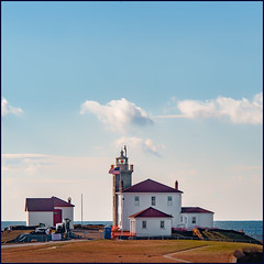 Watch Hill Light (Timothy Valentine) Tags: lighthouse ocean 1219 large clichésaturday sky 2019 fence westerly rhodeisland unitedstatesofamerica