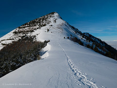 Autour de Notre-Dame de la Salette (laudato si) Tags: snow neige traces raquettes gargas coldel'eterpat lasalette salette notredame alpes isère