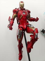 Iron Man Mark VII (becauseBATMAN) Tags: hot toys iron man mark mk vii 7 seven one sixth 16 figure collection flight weapons marvel tony stark ironman