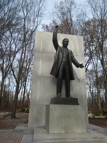 Teddy Roosevelt on Roosevelt Island, Arlington VA ©  Michael Neubert