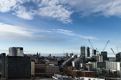 DSC_2608-1 Manchester - city panorama (Filip Patock) Tags: manchester city panorama urban photography perspective sky skyline architecture nikond3200 nikon1855mm england uk landscape wallpaper summer sunny sunlight sunrise europe building