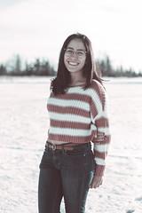 Sheila 1 (Pedro Jacobo López) Tags: canada modelo regina sk modeling nieve snow model
