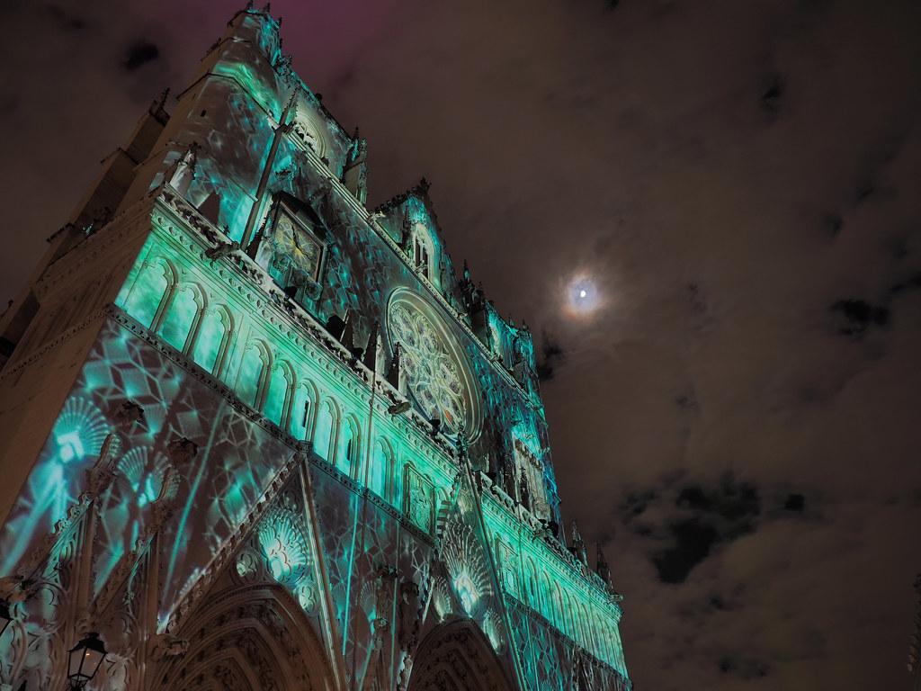 фото: Lyon, La f^ete des lumi`eres, 2019
