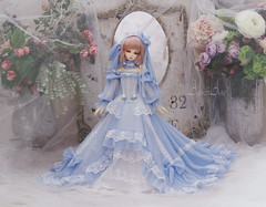 Frozen Lake (AyuAna) Tags: bjd ball jointed doll bjddoll bjdhobby bjdphoto bjdphotography abjd abjds legitdoll legit dollfie dolls dollphotography dollphoto dollbeauty dollhobby dollart dollclothes dollclothing ayuana design minidesign handmade ooak clothing clothes dress set outfit gown robe vetement habilles habillement regularmsd msd raurencio studio karel hybrid dollndoll body normalskin