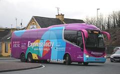 Bus Eireann SE26 (151D4710). (Fred Dean Jnr) Tags: buseireann scania k410eb irizar i6 se26 151d4710 mallow cork december2019 galway buseireannroute51 triaxle alloverad